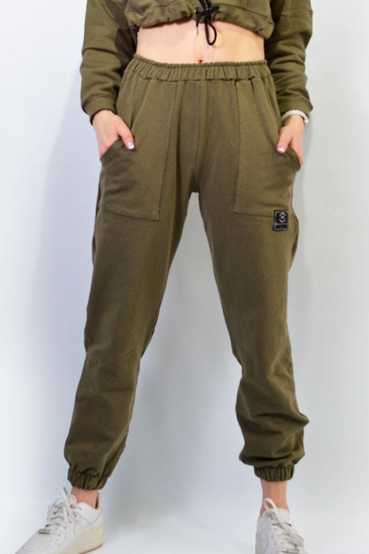 Pantalón Jogger Verde